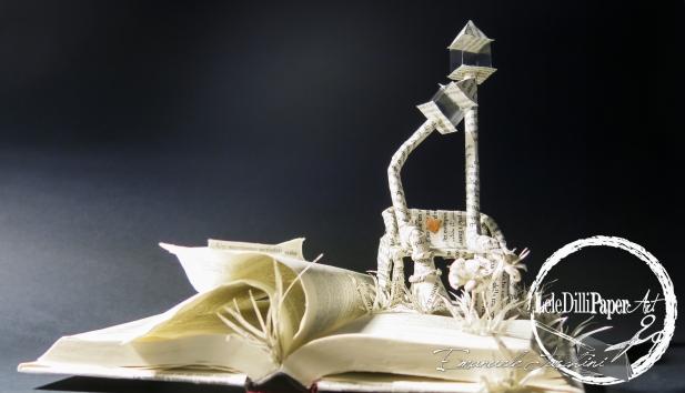BOOK CULPTURE LAMPIONI INNAMORATI