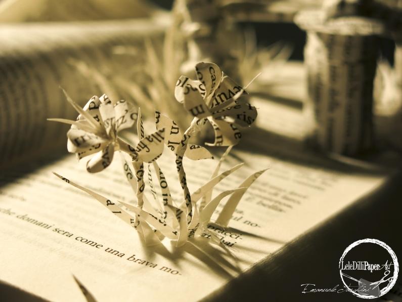 """""""LAMPIONI INNAMORATI"""" (diorama libro scultura)"""