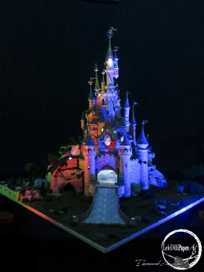 Sleeping Beauty Castle Paper