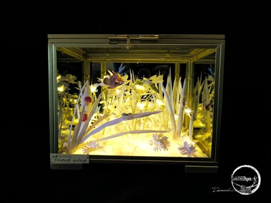 FUOCO VIVO cofanetto di vetro